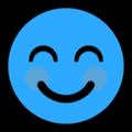 blue smile 1